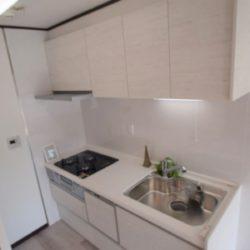 食洗器つきのシステムキッチンです。キッチン